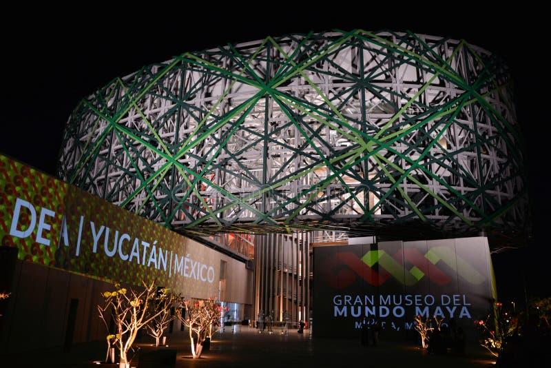 Great Museum of Mayan Culture Merida royalty free stock image
