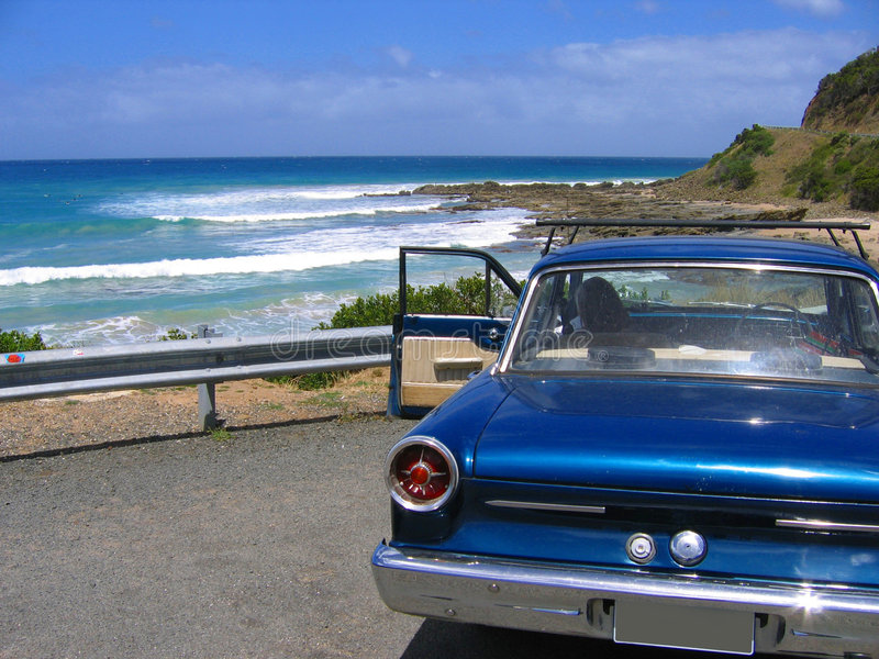 Great Ocean Road. View from the Great Ocean Road in South Australia stock image