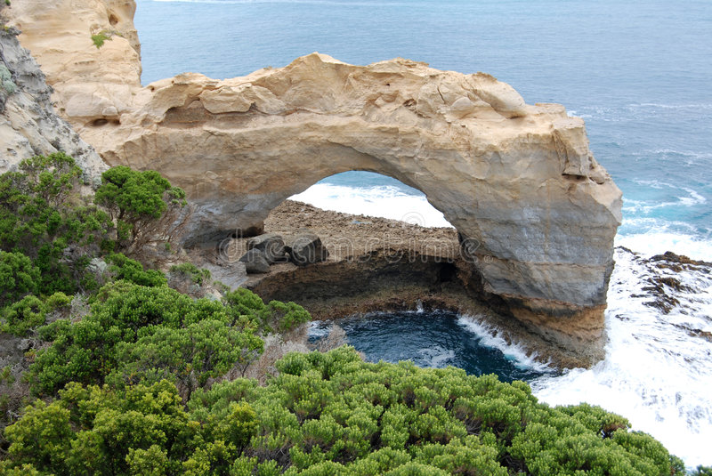 Download Great Ocean Road - The Arch Stock Image - Image: 7733309