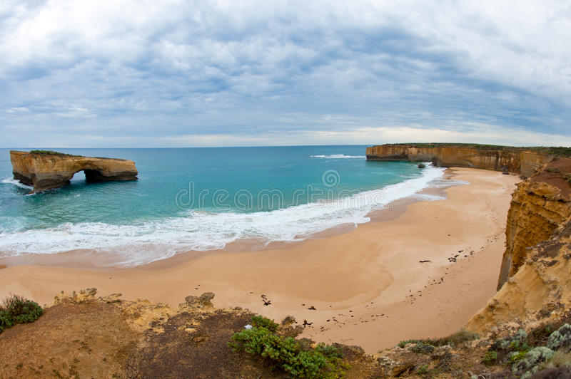 Great Ocean Road - Australia. On the Great Ocean Road in Australia royalty free stock images