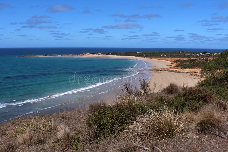 The Great Ocean Road - Australia. The Great Ocean Road is an Australian National Heritage listed 243 kilometres 151 mi stretch of road along the south-eastern stock images