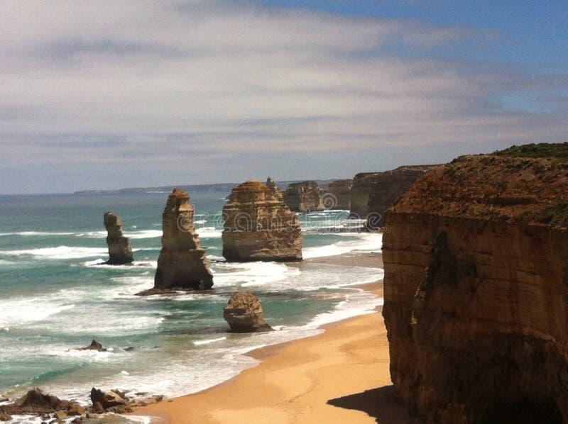 Great ocean road Australia. Great ocean road twelve apostles royalty free stock image