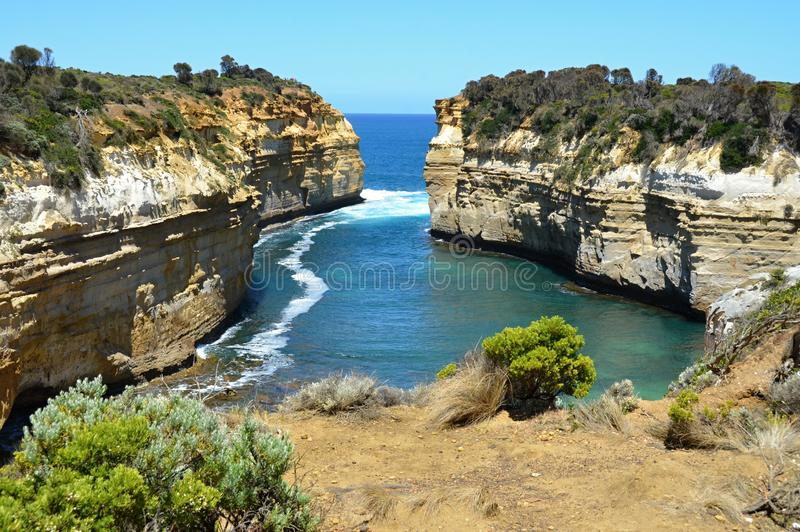 Great ocean road in Australia - Victoria royalty free stock images