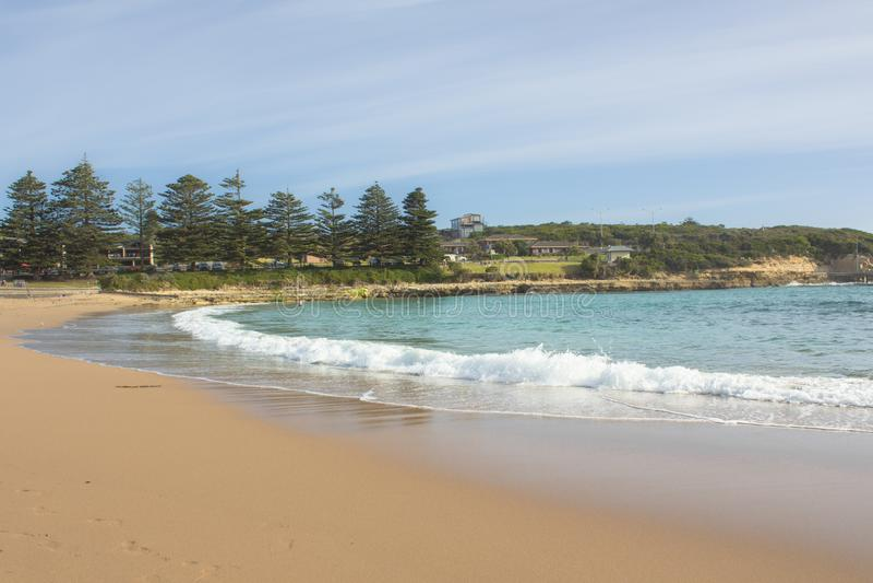 The Great Ocean Road in Australia, Vistoria royalty free stock photos