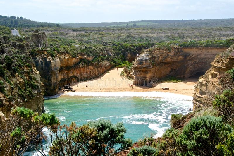 Great Ocean Road. The famous Great Ocean Road in Australia royalty free stock photography