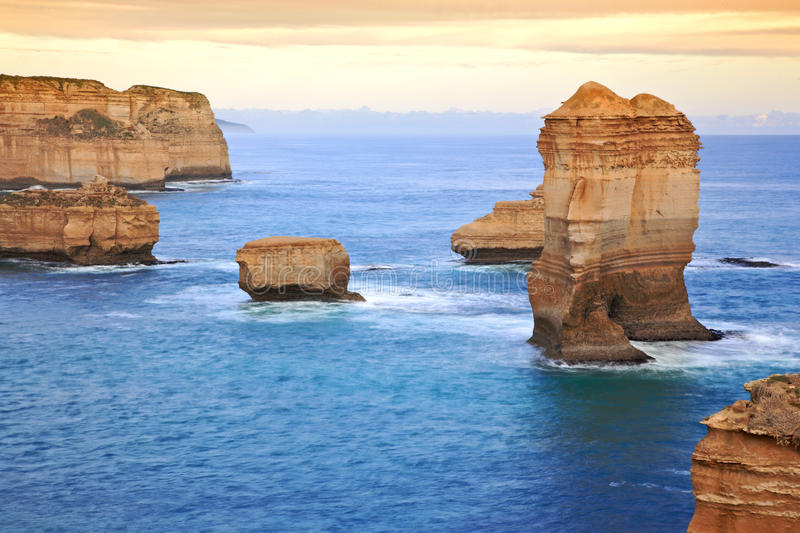The Great Ocean Road, Melbourne stock images