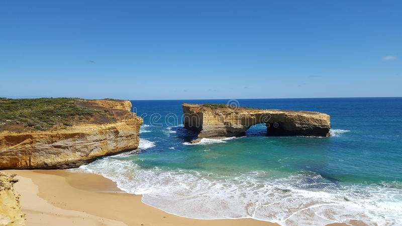 Great ocean road. royalty free stock images