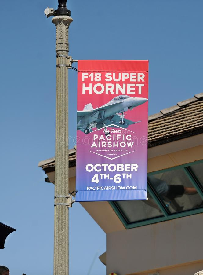 The Great Pacific Airshow, Huntington Beach, California, USA, October, 2019 royalty free stock photos