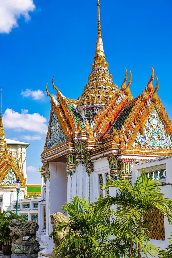 Great Palace Buddhist temple in Bangkok. The great palace buddhist temple in Bangkok, Thailand stock photography