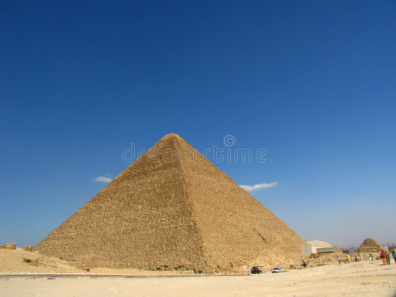 Download Great Pyramid stock photo. Image of monument, abandoned - 8606160