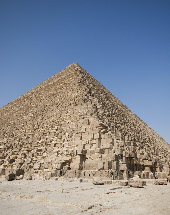 Great Pyramid of Giza royalty free stock photos