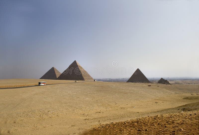 Download Great Pyramids Of Giza Stock Image - Image: 7802941