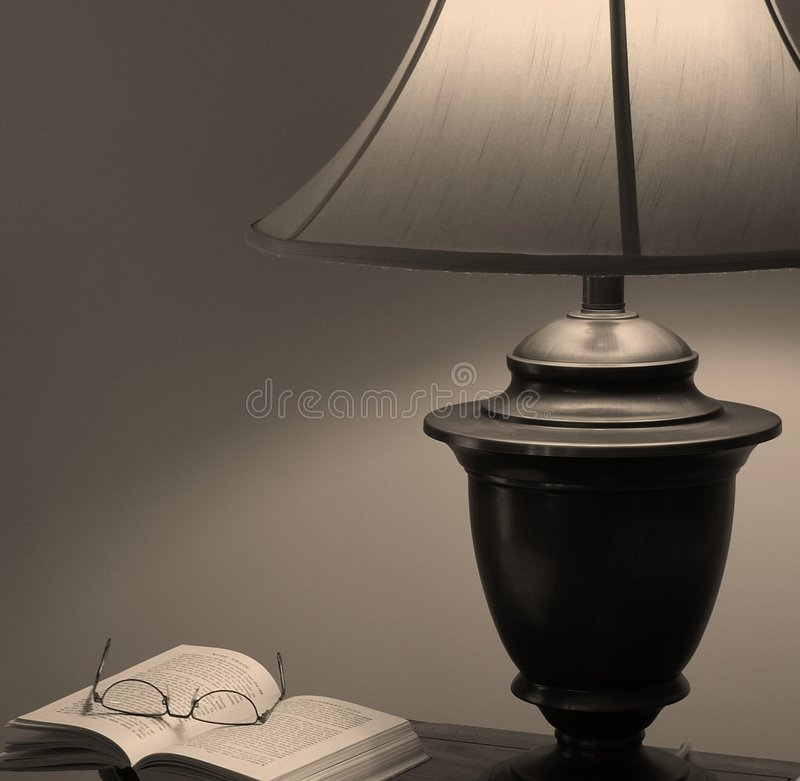 A Great Read (in Sepia) Royalty Free Stock Photo