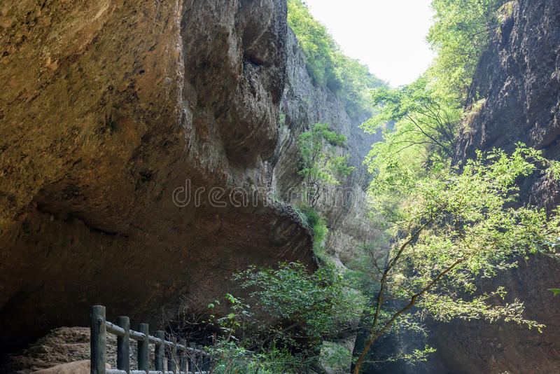 Great Rift Valley in WanXi royalty free stock image