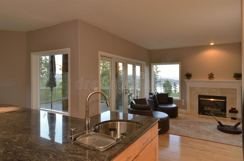 Download Great Room stock image. Image of house, estate, countertop - 27056163