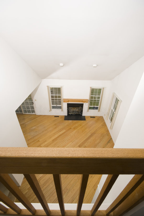 Download Great room condo stock photo. Image of floors, fireplace - 3585494