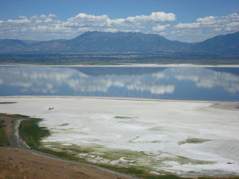 Great Salt Lake royaltyfri foto
