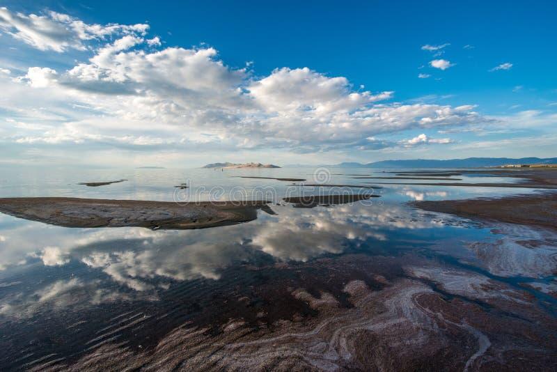 Great salt lake. Near Salt Lake City, Utah royalty free stock photo