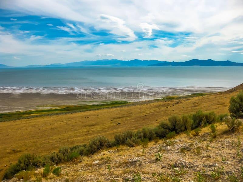 Great Salt Lake Utah royaltyfri fotografi