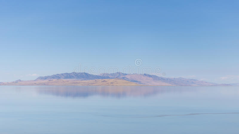 Great salt lake royalty free stock photography