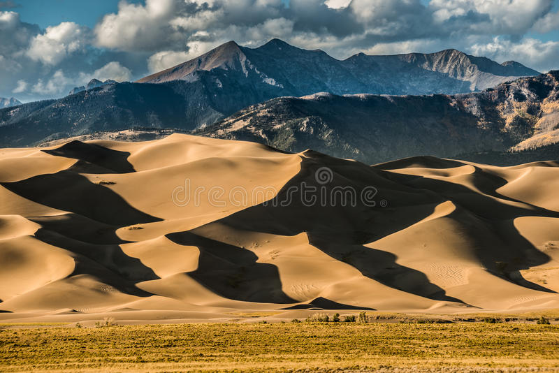 Great Sand Dunes Colorado royalty free stock photography
