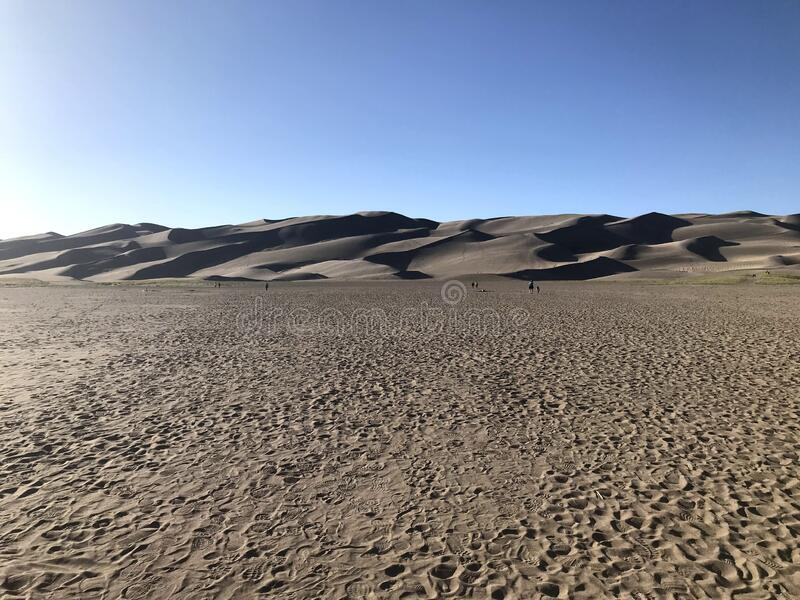 Great Sand Dunes National Park and Preserve royalty free stock photo