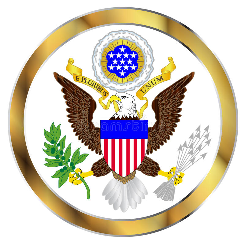 Great Seal Of America vector illustration