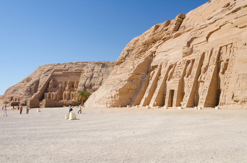 Download The Great And Small Temple Of Abu Simbel, Egypt Stock Image - Image: 28847037