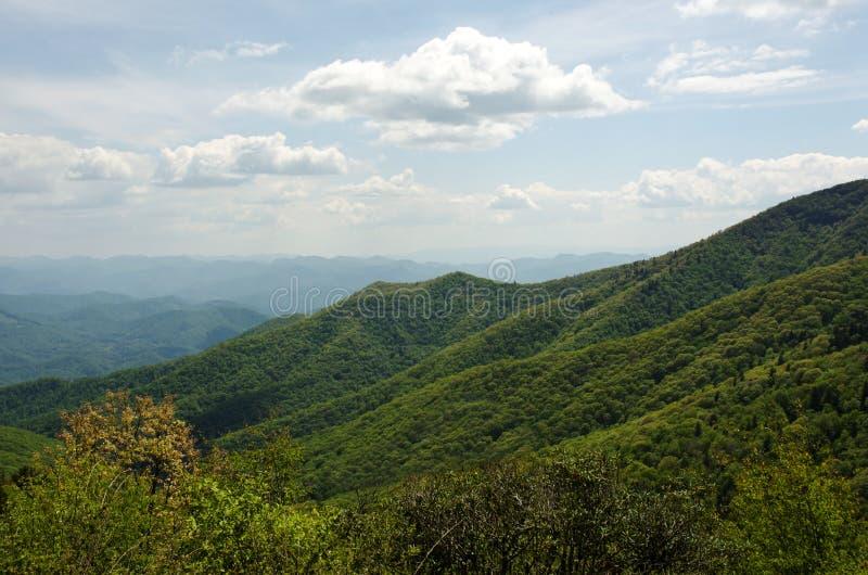 Great Smokey Mountain Range royalty free stock photo