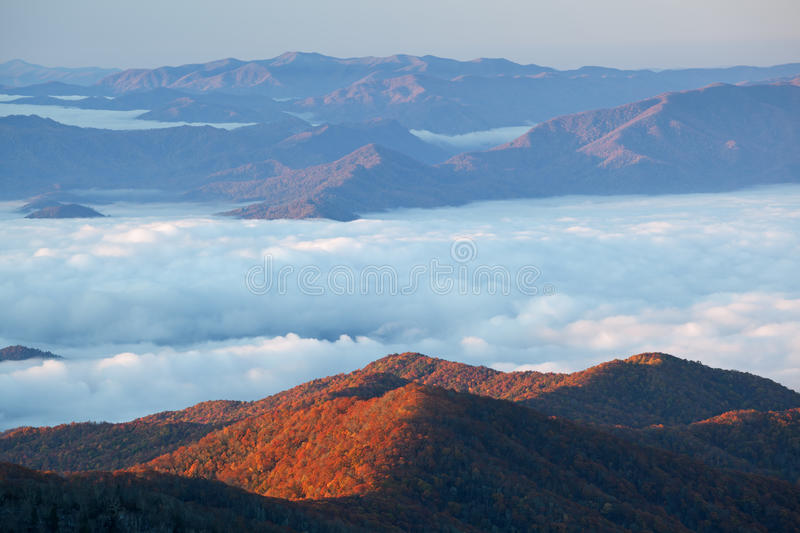 Great Smoky Mountains stock image