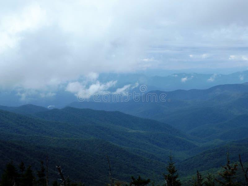Great Smoky Mountains av Tennessee royaltyfri fotografi