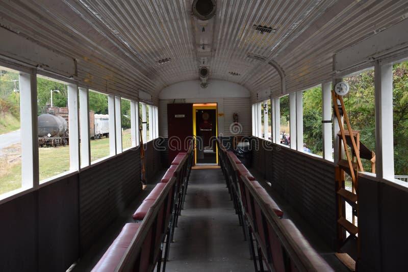 Great Smoky Mountains Railroad in Bryson City, North Carolina. USA royalty free stock photo