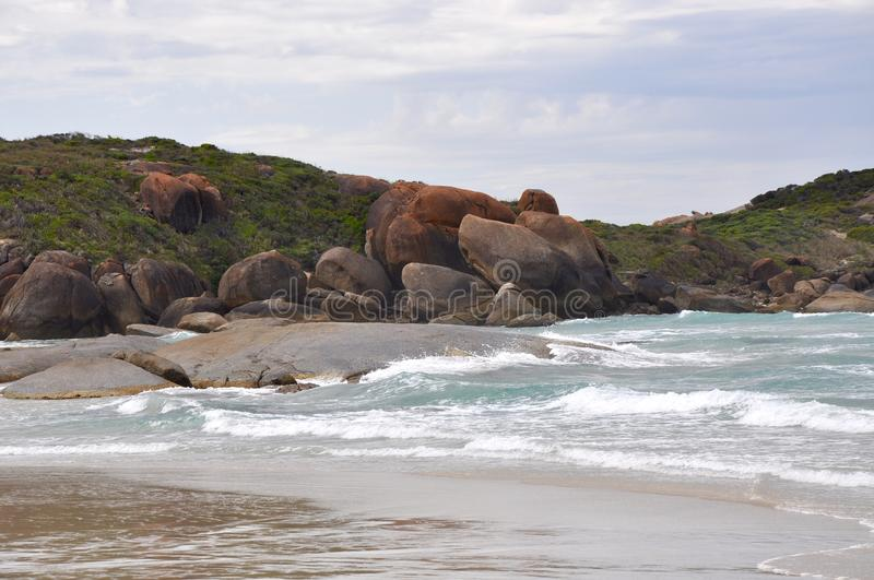 Great Southern Ocean: Rocky Dunes royalty free stock photography