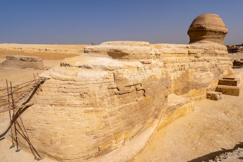 Great Sphinx of Giza stock images