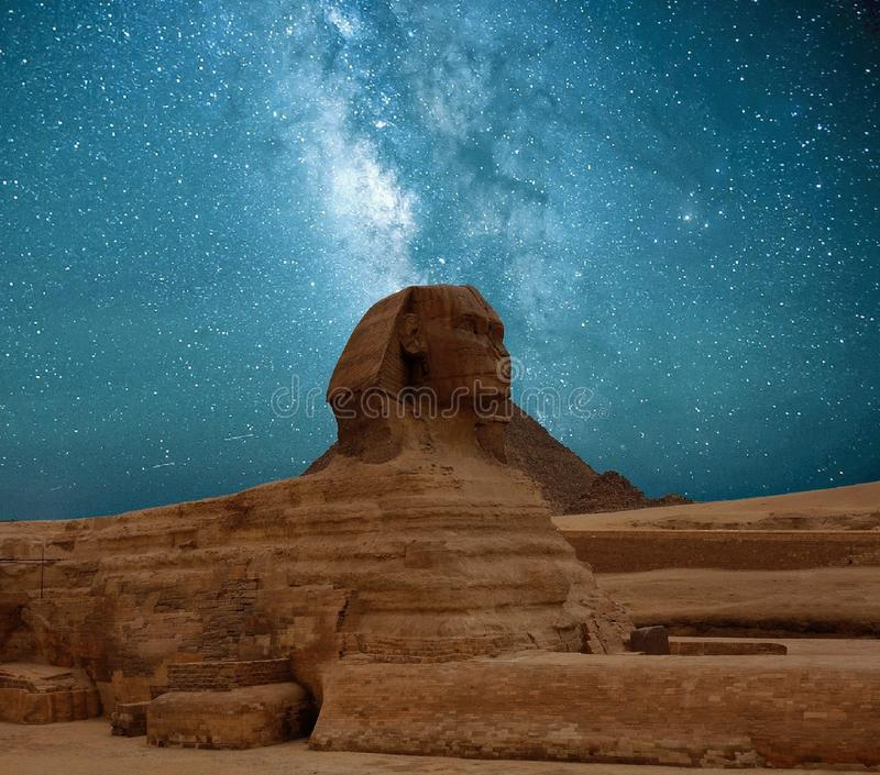 Great Sphinx of Giza royalty free stock photos