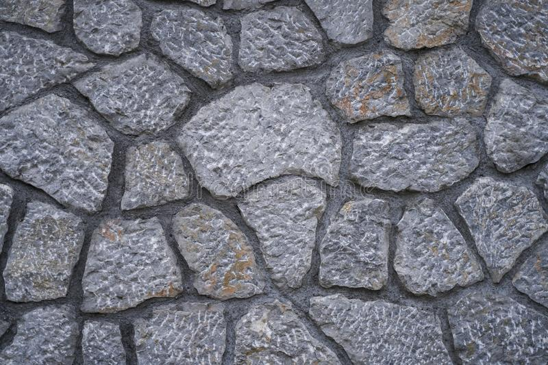 Great stone wall good for backgrounds, wallpapers. Great stone wall good for texture backgrounds, wallpapers. Old city stone walls stock image