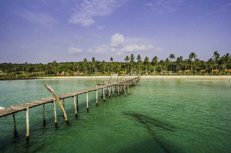 Great summer in Koh Kood stock image