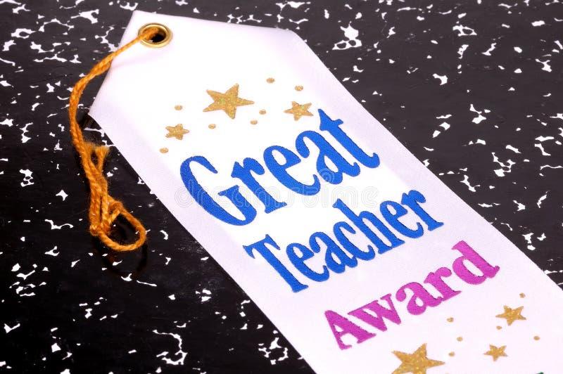Great Teacher Award stock photo