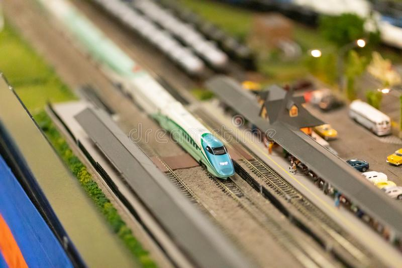 The Great Train Show 2019 stock image