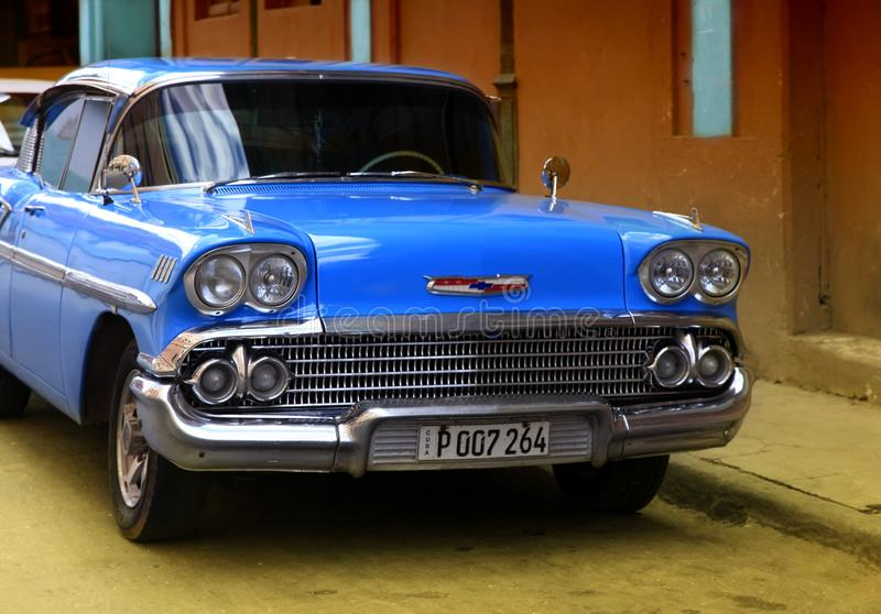A great variety of old cars exist In Cuba stock photo