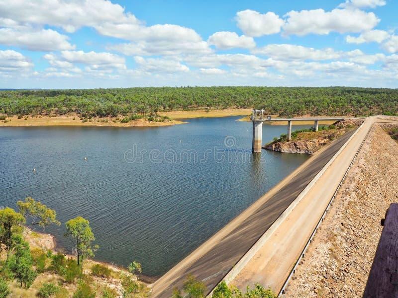 Boondooma Dam in Queensland, Australia royalty free stock image