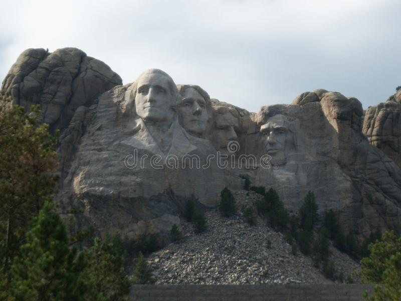 A great view of the mount Rushmore memorial royalty free stock photos