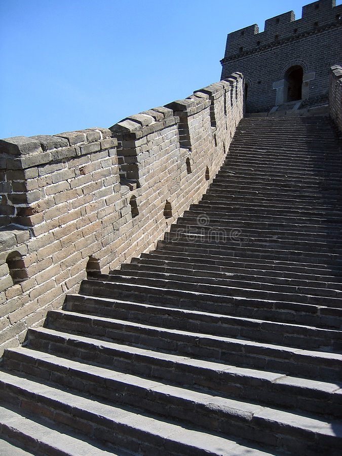 Great Wall royalty free stock photos