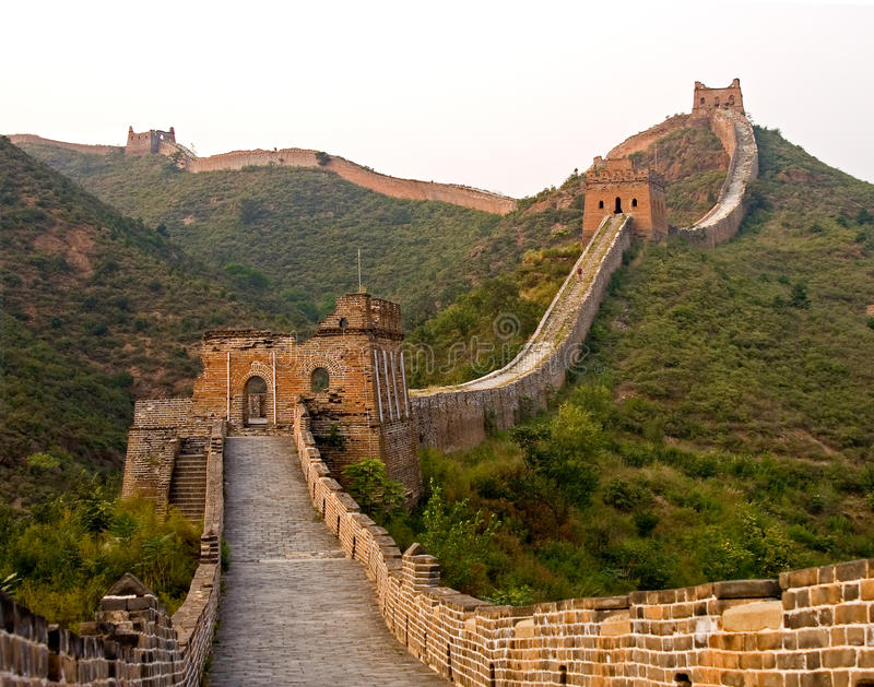 Download The Great Wall stock image. Image of china, landmark - 19021507