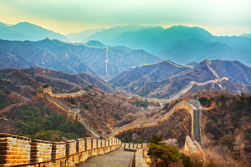 Download Great wall stock image. Image of green, famous, doors - 22120559