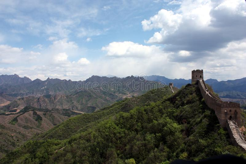 Download Great Wall stock image. Image of peking, fortification - 24038395