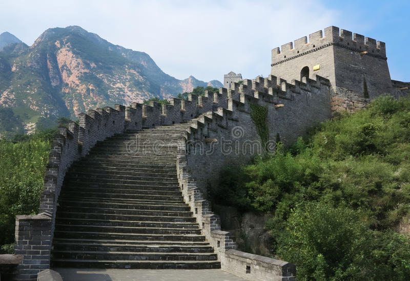 Download Great Wall stock image. Image of defence, peaking, great - 26518425