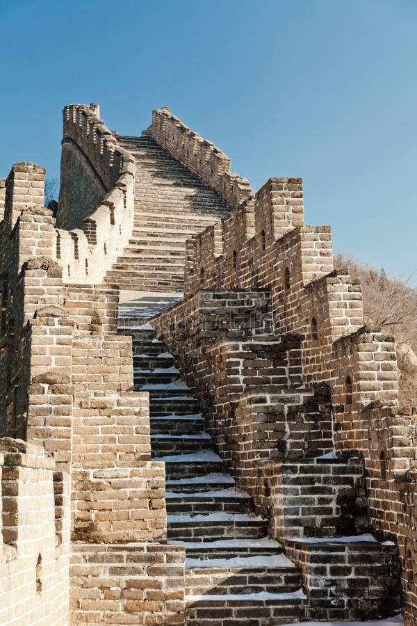 Download The Great Wall stock image. Image of famous, asian, great - 28935839