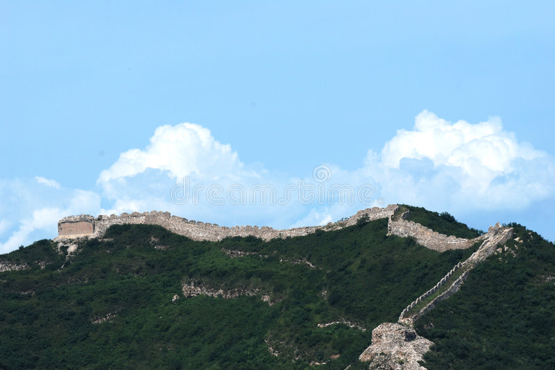 The great wall stock images