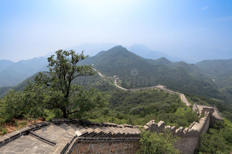 Download The great wall in beijing stock photo. Image of fortress - 21064466